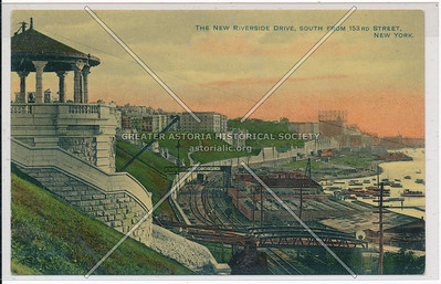 The New Riverside Drive, S from 153rd St. N.Y.C.