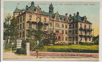 823. Isabella Heimat, 195th St. & Amsterdam Ave., N.Y.C
