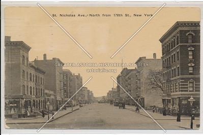 St. Nicholas Ave., N from 178th St. N.Y.C.