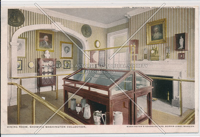 Dining Room, Showing Washington Collection, N.Y.C.