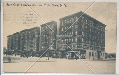 Hazel Court, Sherman Ave., and 207th St. N.Y.C.