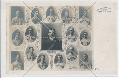 NY National Baseball Team. (B43)