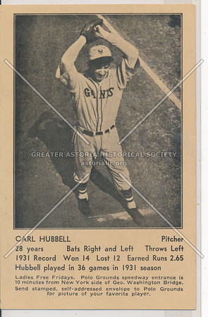 Carl Hubbell (Pitcher)