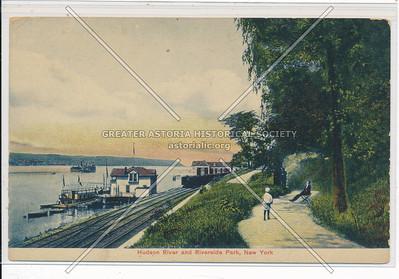 Hudson River & Riverside Park, N.Y.C.