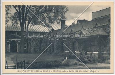 Holy Trinity Episcopal Church. Seaman Ave. & Cumming St., N.Y.C.