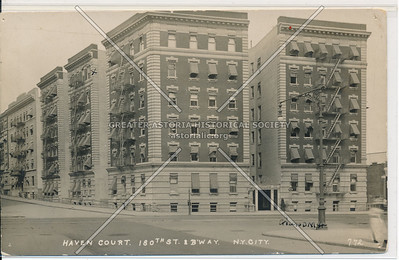 Haven Court. 180th St. & Bway. N.Y.C. (772)