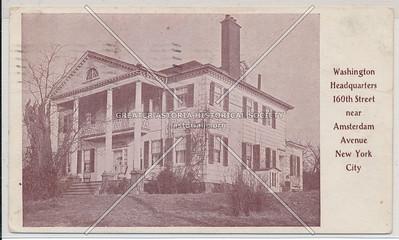Washington Headquarters 160th St. near Amsterdam Ave., N.Y.C.