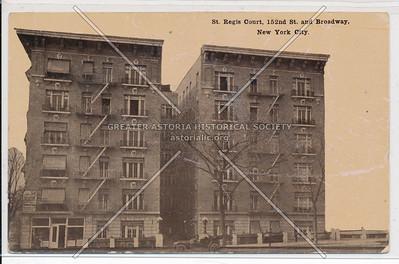 St. Regis Court, 152nd St. & Bway, N.Y.C.