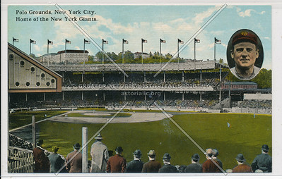 Polo Grounds. N.Y.C. Home of the NY Giants