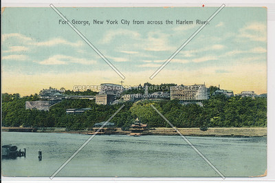 Ft. George, N.Y.C. from access the Harlem River.