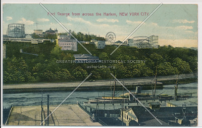Ft. George from across the Harlem, N.Y.C.