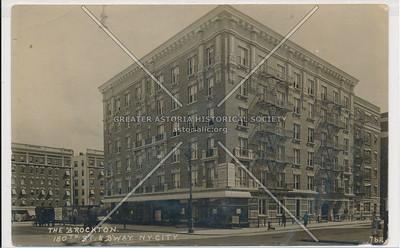 The Brockton. 180th St. & Bway. N.Y.C. (762)