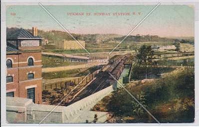 Dyckman St. Subway Station, N.Y.C.