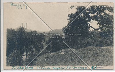 Isham Park looking towards Ft. George. N.Y.C.