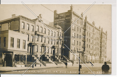 The Kingland, 187th St. NR Audubon Ave. N.Y.C