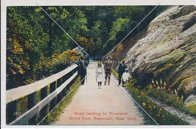 2660. Road leading to Riverside Drive from Reservoir, N.Y.C.