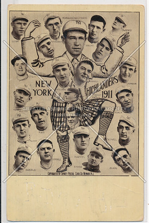 NY Highlanders 1911