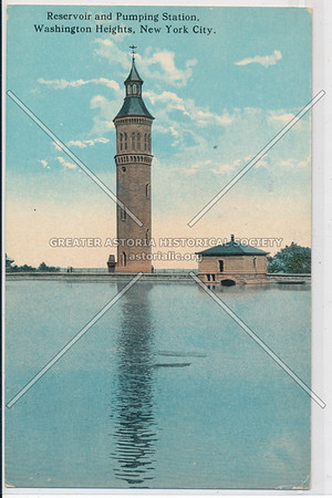 Reservoir & Pumping Station, Washington Hegihts, N.Y.C.