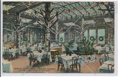 Healy's Restaurant & Silver Garden. 145th St. & Bway. N.Y.C.
