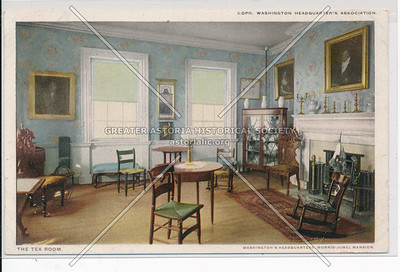 The Tea Room. Washington Headquarters. N.Y.C.