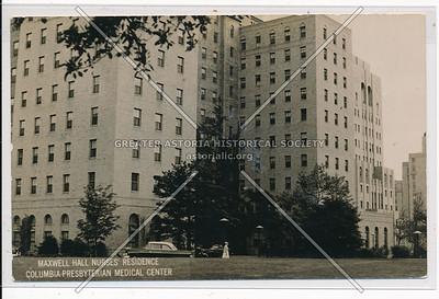 Maxwell Hall Nurses Residence Columbia Presbyterian Medical Center N.Y.C.