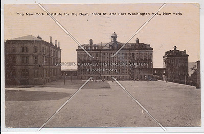 The NY Institute for the Deaf, 163rd St. & Fort Washington Ave, N.Y.C. (No. 6)