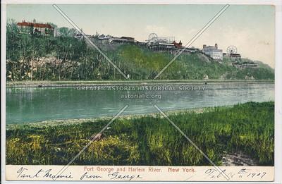Ft. George & Harlem River. N.Y.C. (Feb 14th 1907)