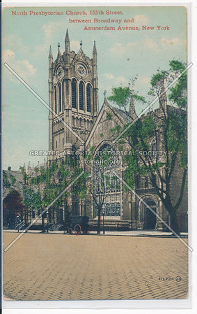 North Presbyterian Church, 155th St. between Bway and Amsterdam Ave, N.Y.C.
