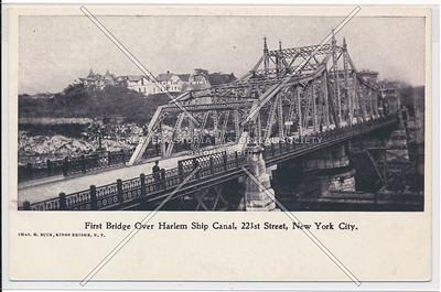 First Bridge over Harlem Ship canal, 221 st St., N.Y.C.