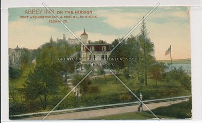 Abbey Inn on the Hudson. Ft. Washington Ave. & 198th St., N.Y.C. (Pechar Co.)