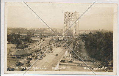 Washington Memorial Bridge. Fort Lee, N.J.