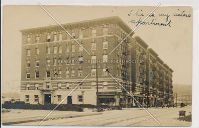 Inwood Court, Post Ave., & 207th St. N.Y.C. (2573)