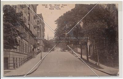 153rd St. W from St. Nicholas Pl. N.Y.C.