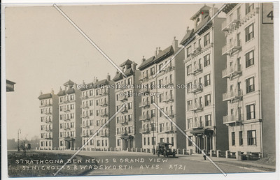Strathcona, between Nevis & Grand View. St. Nicholas & Wadsworth Aves. N.Y.C. (2721)