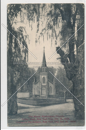 The Mount Washington Church, Inwood-on-the-Hudson, N.Y.C. Oct. 18, 1896.