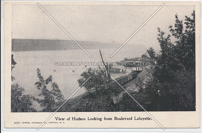 View of Hudson Looking from Boulevard Lafayette., N.Y.C.