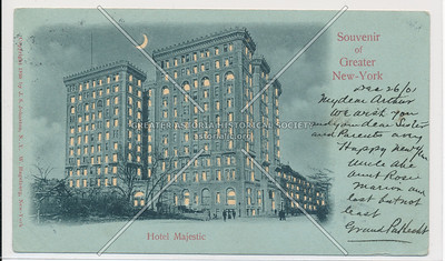 Souvenir of Greater New-York, Hotel Majestic