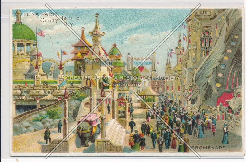 Luna Park, Coney Island, Bklyn