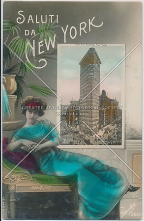 Saluti Da New York- Flat Iron Building, NYC