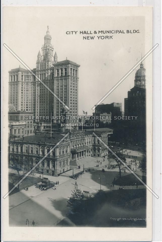 City Hall & Municipal Bldg. NYC