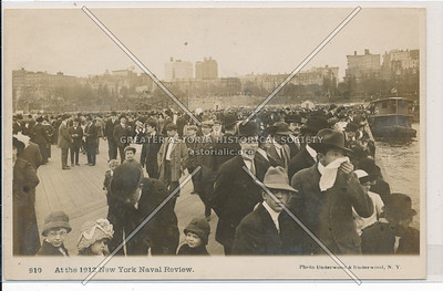 At the 1912 New York Naval Review, NYC