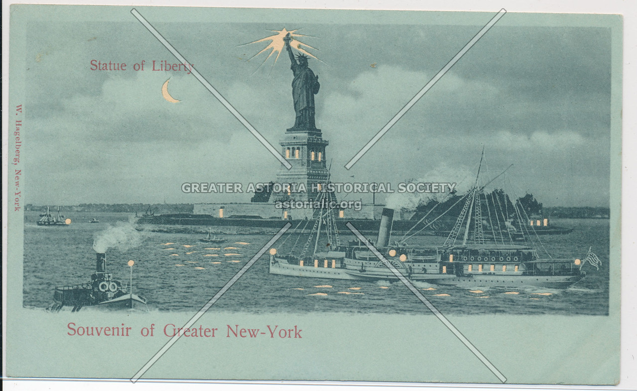 Souvenir of Greater New-York, Statue of Liberty