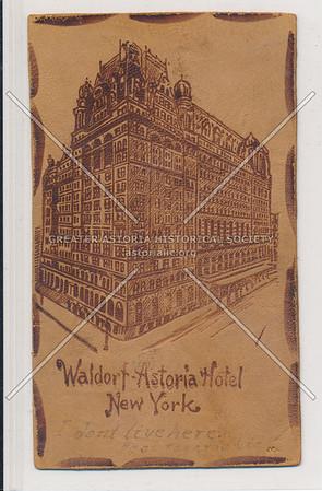 Waldorf Astoria, NYC