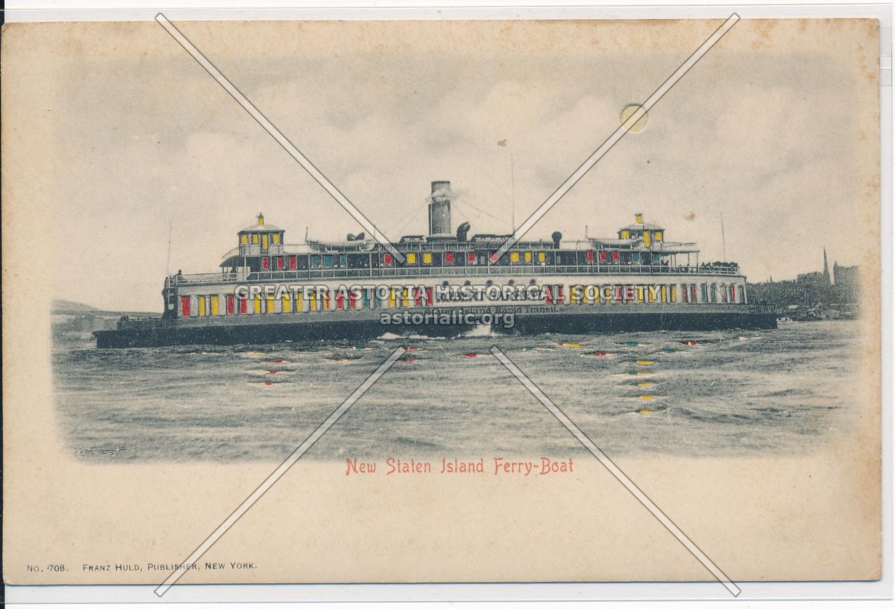 New Staten Island Ferry-Boat, NYC