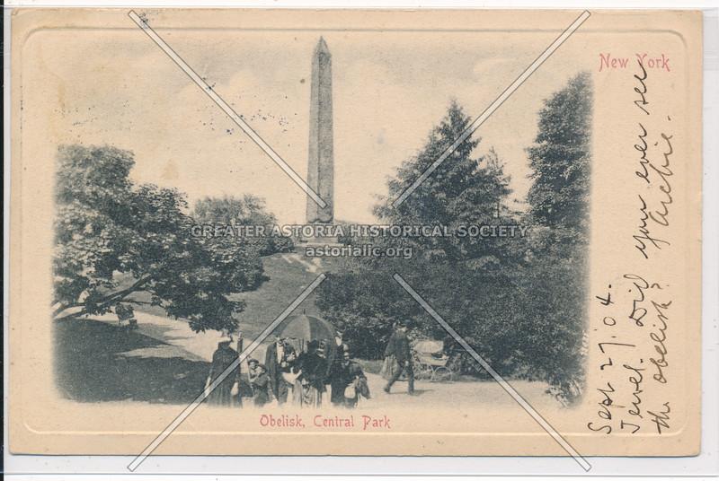 Obelisk, Central Park, NYC