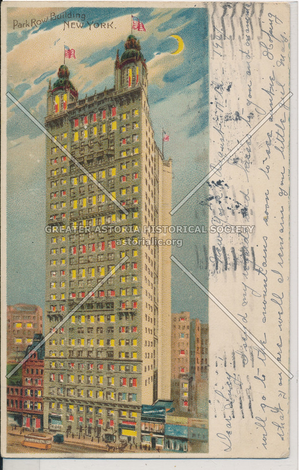 Park Row Building, NYC