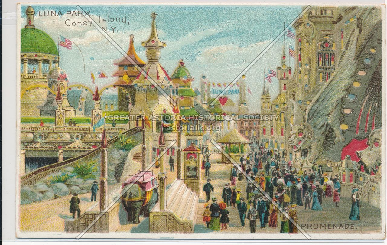 Luna Park, Coney Island, NYC