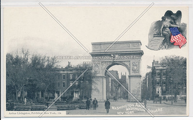 Washington Arch, Washington Square, New York.