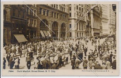 Curb Market, Broad Street, NYC
