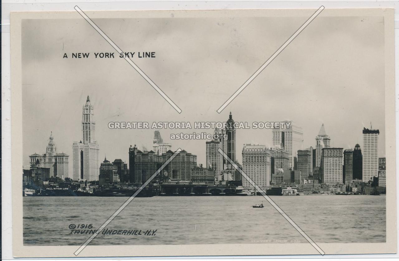 A New York Sky Line, NYC